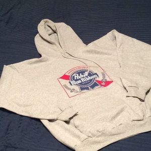 PBR hooded sweatshirt by Champion
